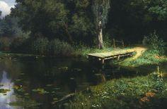 В.Д. Поленов, «Заросший пруд»