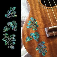 Hawaiian Tropical Plants Inlay Stickers Decals