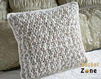 Neutral Crochet Pillow Pattern