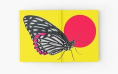 """BUTTERFLY"" Hardcover Journals by IMPACTEES 