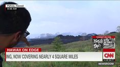 """After living in Puna for 18 years with """"LAZE"""" every day, we really never bothered when the wind changed. CNN seems to think th. Weather Alerts, Lava, Hawaii, Fresh, World, Youtube, The World, Pallet, Hawaiian Islands"""