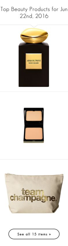"""""""Top Beauty Products for Jun 22nd, 2016"""" by polyvore ❤ liked on Polyvore featuring beauty products, fragrance, giorgio armani, giorgio armani fragrance, edp perfume, giorgio armani perfume, eau de perfume, makeup, face makeup and foundation"""