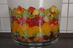 Süßer Schichtsalat 1
