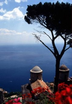 Ravello on Amalfi coast.