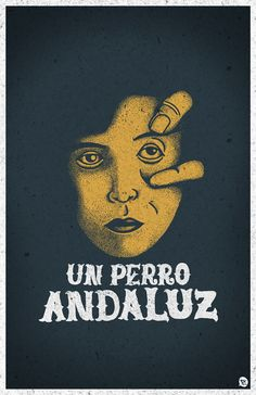 Un perro Andaluz by Manuel Cetina, via Behance
