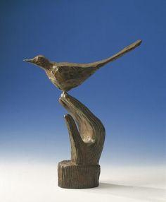 Un oiseau, oeuvre de Jean-Michel Folon
