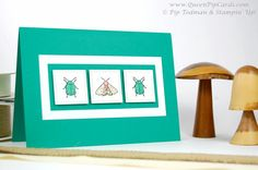 http://www.queenpipcards.com/2017/01/31/buy-beetles-and-bugs-by-stampin-up-today/ Love these little sparkly guys! Stampin Up  #queenpipcards #stampinup #papercraft  2017 Spring/ Summer catalogue  Beetles and Bugs  Beetles & Bugs