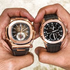 5980 vs 5164 Which Patek Would You Rather Have! Contact for Individual Pricing . . . #timepieces #swisswatch #vintagewatch #patek #swissmade #richardmille #deluxe #tagheuer #iwc #audemarspiguet #highend #luxuryliving #hublot #expensive #styleblog #successful #luxurylifestyle #luxe #millionaire #luxurylife #watches #patekphilippe #goodlife #rolex #money #jewelry #lifestyle #breitling #tissot