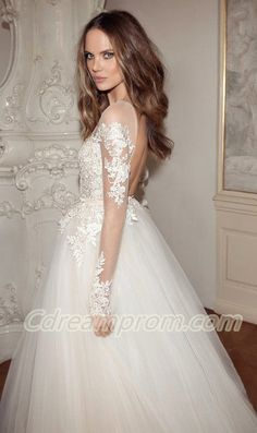 lace wedding dress #princess
