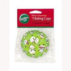 Wilton Shiver Me Snowman, Standard Baking Cups *** Remarkable product available  : Baking Accessories