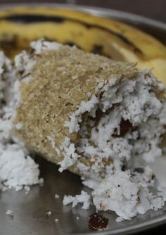 கோதுமை புட்டு / Wheat Flour (Atta) Puttu / Steamed Wheat Flour with Coconut - Healthy Breakfast Ideas