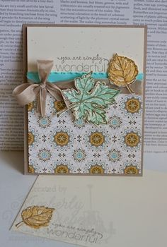 Fall Handmade Cards
