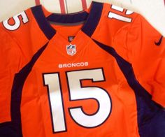 Nike Tim Tebow NFL On Field Denver Broncos Jersey Very Rare W/ Tags Size 48