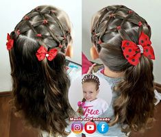 Childrens Hairstyles, Girls Natural Hairstyles, Baby Girl Hairstyles, Hairstyles For School, Cute Hairstyles, Braided Hairstyles, Natural Hair Styles, Hair Upstyles, Crazy Hair Days