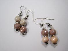 Zandstorm: Knopen met katoendraad (Juwelen,halsketting)