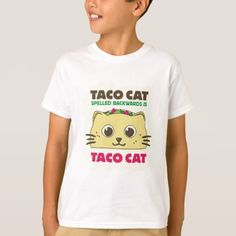 Taco Cat T-Shirt #cute #baby #babyclothes #kids #cuteanimals