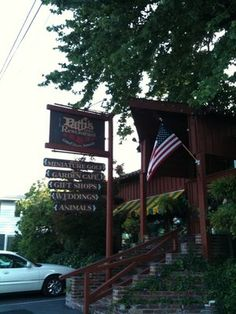 Patti's 1880 Settlement in Grand Rivers, KY.  This is a neat old place to eat at & look around. They serve bread in terra cotta flower pots.