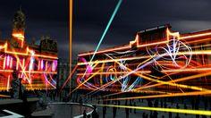 Lyon, à la célèbre Fête des Lumières
