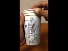 Japanese Artist Turns Paper Cups, Food and Cigarette Ash Into Playful Works of Art | Spoon & Tamago
