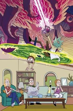 Rick and Morty is an American adult animated science fiction sitcom created by Justin Roiland and Dan Harmon for Cartoon Network's late-night programm.win, Daily Fresh Memes, Funny Pics and Quotes Rick And Morty Image, Rick Und Morty, Dragonball Anime, Mobile Wallpaper, Iphone Wallpaper, Collage Mural, Rick And Morty Poster, Simpsons, Stoner Art