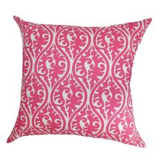 I want this pink pillow in my life!