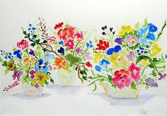 Three Pots Painting