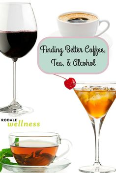 Is there DDT in your favorite tea? How to pick healthier tea, coffee, wine, beer, and spirits.