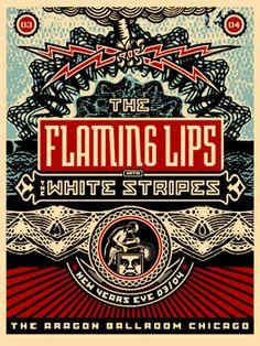 The Flaming Lips. NYE. Aragon Ballroom.