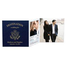 Fabulous destination wedding invitations.