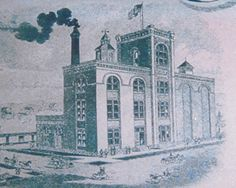 """The Petoskey Brewing Company in the """"old"""" days - now home to great foams and fun! On M-119 between Petoskey and Harbor Springs.   #PetoskeyArea  http://www.PetoskeyArea.com"""