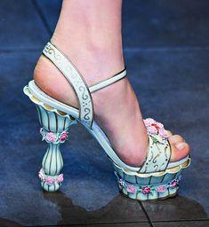 Fairy tale costume shoes