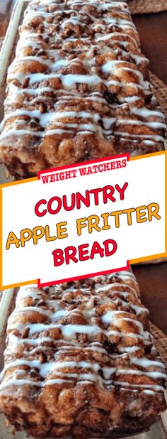 Apple Fritter Bread, Apple Fritters, Apple Picking Season, Apple Recipes Easy, Loaf Pan, First Bite, Easy Meals, Pumpkin, Baking