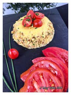 A' Mag' Table: Bowl cake salé (poulet-ciboulette)