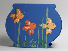 Goldfish On Parade by AbbysGrammy - Cards and Paper Crafts at Splitcoaststampers