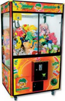 """Toy Soldier 46"""" Jumbo Plush Toy Crane Redemption MachineFrom Coastal Amusements  Get More Information about this game at: http://www.bmigaming.com/games-catalog-coastalamusements.htm"""