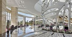 MGM Grand Sanya - Lobby - The lobby was designed with an impressive sculptural focal point.