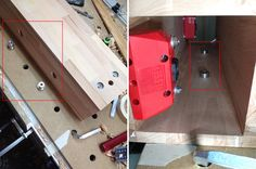 Interpretation of Heiko Rech's idea of a vise for the Festool MFT…