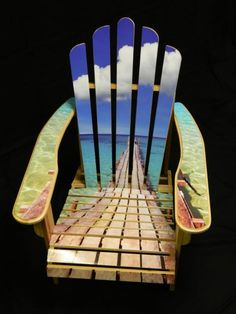 Coolest lawn chair everrr. #AdirondackChair