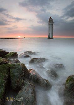 Sundown at the Lighthouse #Lighthouse