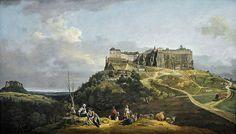 Bernardo Bellotto, genannt Canaletto, Die Festung Königstein (The Fortress Königstein)