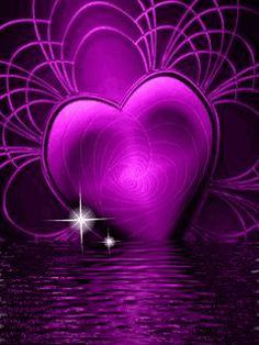 Purple Art, Purple Love, All Things Purple, Shades Of Purple, Purple And Black, Pink Purple, Purple Stuff, Heart Wallpaper, Love Wallpaper