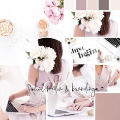 Create a beautiful, cohesive look for your online presence. Shop pre-designed ready to edit Social Media Templates. #socialmedia #branding