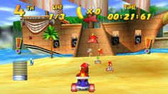 Rare Details On Canceled Diddy Kong Racing Sequel - http://videogamedemons.com/rare-details-on-canceled-diddy-kong-racing-sequel/