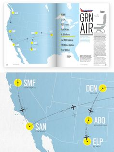 Feltron designs many amazing information graphics, but this particular map stands out in their portfolio because of the addition of the sha. Information Design, Information Graphics, Life Flight, Financial Charts, Yearbook Design, Location Map, Graphic Design Inspiration, Layout Design, Branding Design