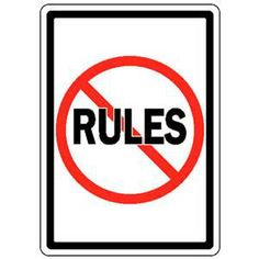 """Beginning writers focus on """"the rules"""".  Experienced writers know when and how to ignore them."""