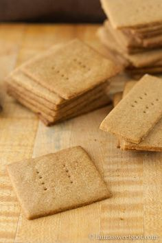 homemade graham crackers...@lauraasweetspot