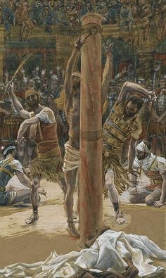 The Scourging On The Back. By Tissot