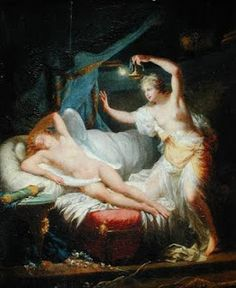 Jean-Baptiste Regnault (1754 - 1829) Psyche and Eros