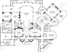 Castle of Ourem House Plan - First Floor Plan- It's sooooo BIG!