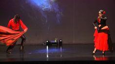 Oscar Flores & Mia Sha`uri Dueto Arabe Flamenco  Show Egyptian Dreams